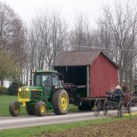 Transporting buggy shed